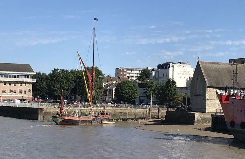 The Decima in Gravesend