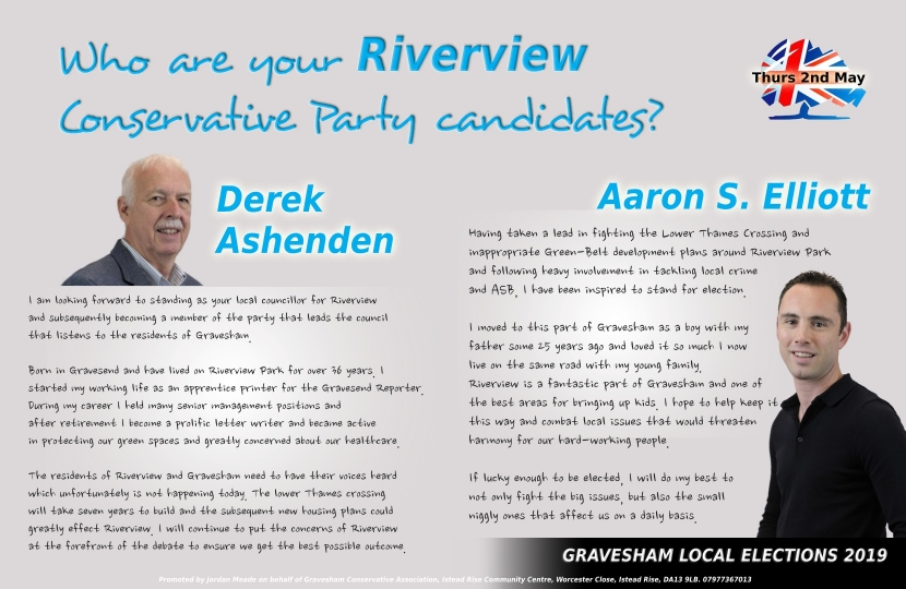 Candidates for Riverview